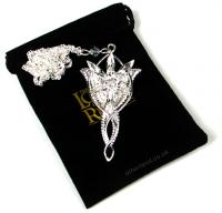Lord of the Rings Pendant Arwen's Evenstar (silver plated)