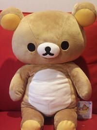 Rilakkuma Bear Plush large