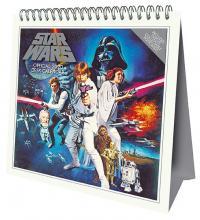 Star Wars 2020 Desk Easel Calendar with Postcards