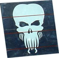 White Cthulhu Window Decal Sticker