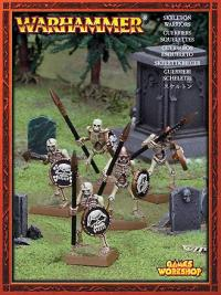 Skeleton Warriors 5-man Unit (snapfit)