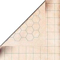 Battlemat 1 inch Square/Hex (Double-sided)
