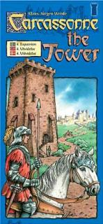 Carcassonne expansion 4 - Tower (svensk)