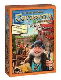 Carcassonne expansion 5 - Abbey & Mayor (svensk)