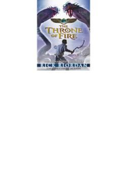 Throne of Fire (The Kane Chronicles Book 2)