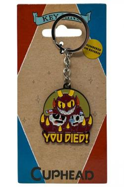 Metal Keychain You Died! Limited Edition 4 cm
