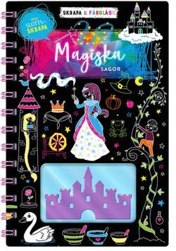 Skrapa & färglägg: Magiska sagor