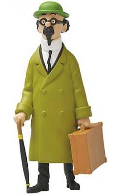 Liten figur - Kalkyl med resväska