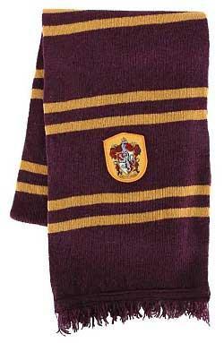 Harry Potter Scarf Gryffindor 190 cm (lila-gul)