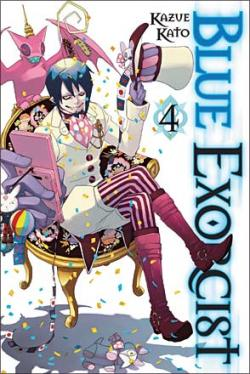 Blue Exorcist Vol 4