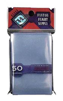 Red - Mini European Board Game Sleeves plastfickor