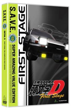 Initial D First Stage Complete First Season