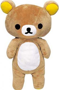 Rilakkuma Bear Plush medium