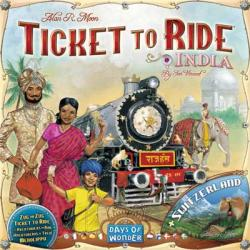 Ticket to Ride - India & Switzerland