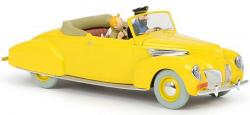 Bil - 1: 24 Lincoln Zephyr Covertible gul