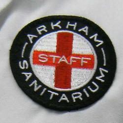 Arkham Sanitarium Staff Patch