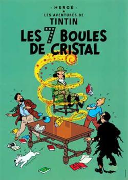 Vykort - Les 7 boules de cristal