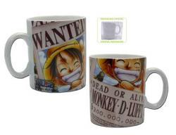 One Piece Mug Luffy Wanted