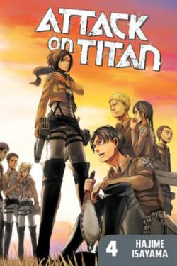 Attack on Titan vol 4