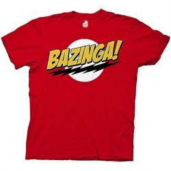 Big Bang Theory Bazinga! Red