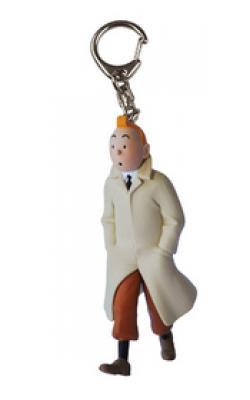 Nyckelring - Tintin promenerar
