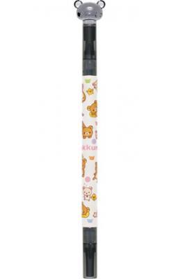 Rilakkuma color twin pen (black) 29801