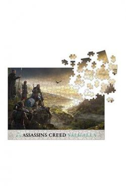 Assassins Creed Valhalla Jigsaw Puzzle Raid Planning (1000 pc)