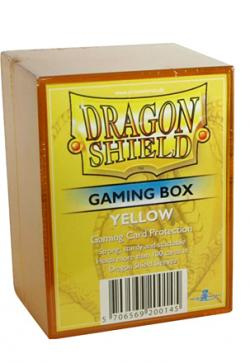 Yellow Card Box (Holds 100 Sleeved Cards)