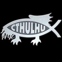 Cthulhu fish bumper thingy