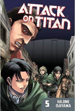 Attack on Titan vol 5