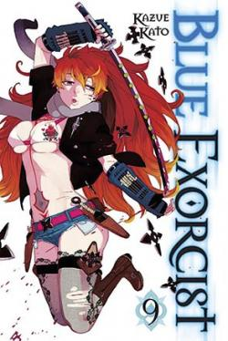 Blue Exorcist Vol 9