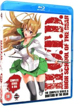 High School Of The Dead Series & Drifters of the Dead OVA
