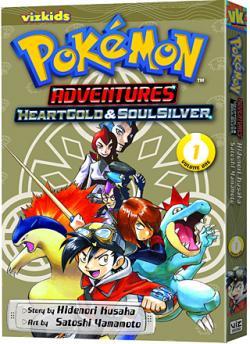 Pokemon Adventures HeartGold & SoulSilver Vol 1