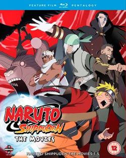 Naruto Shippuden: The Movies 1-5