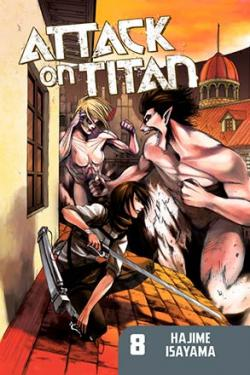 Attack on Titan vol 8