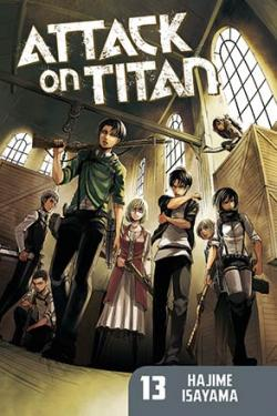 Attack on Titan vol 13
