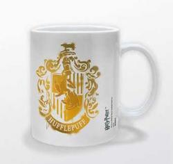 Harry Potter Mug Hufflepuff Stencil Crest