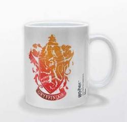 Harry Potter Mug Gryffindor Stencil Crest