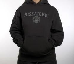Hoodie: Miskatonic Classic Collegiate, Large
