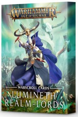 Lumineth Realm-Lords Warscroll Cards