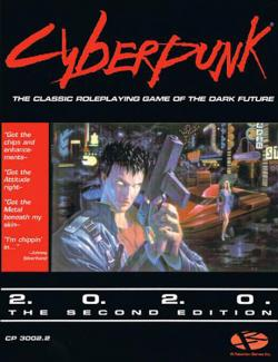 Cyberpunk 2020 Rpg - 2nd edition