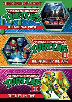 Teenage Mutant Ninja Turtles 1-3