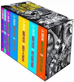 Harry Potter Boxed Set Vol 1-7 Adult Edition