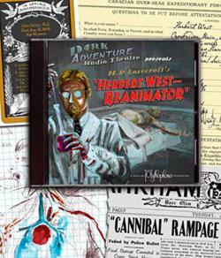 Herbert West: Reanimator - audio drama CD
