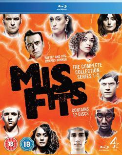 Misfits, Series One-Five