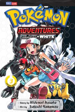 Pokemon Adventures Black & White Vol 3