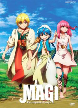 Magi, The Labyrinth of Magic: Season 1, Part 1