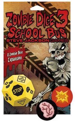 Zombie Dice 3 - School Bus Expansion