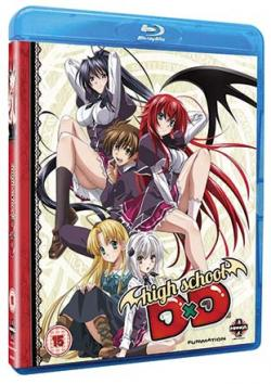 High School DxD: Complete Series Collection