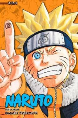 Naruto 3-in-1 Vol 8